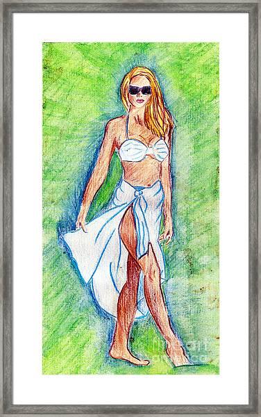 Beauty Framed Print