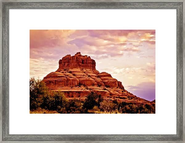 Bell Rock Vortex Painting Framed Print