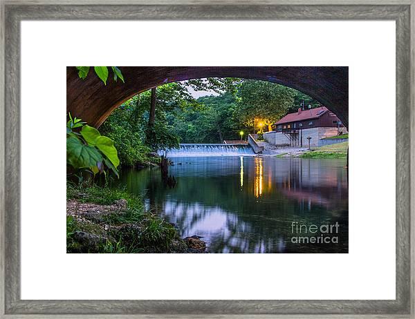 Bennett Springs Framed Print