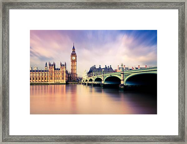Big Ben Framed Print by Lightkey