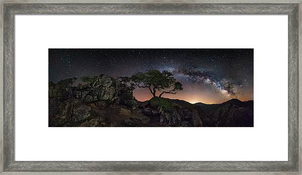 Big Mountains Framed Print by Ivan Pedretti