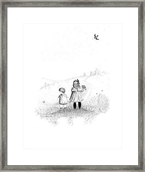 Big Sister Framed Print