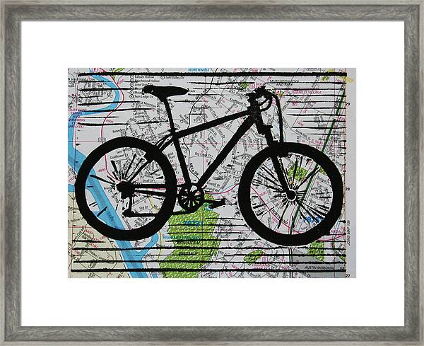 Bike 10 Framed Print
