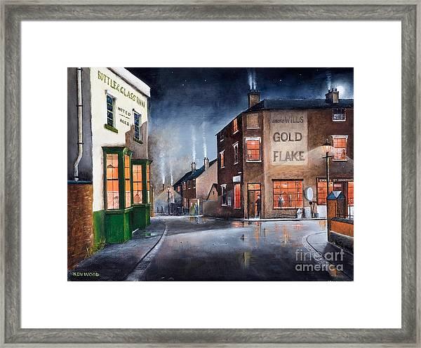 Black Country Village Centre Framed Print