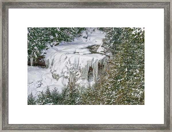 Blackwater Falls Framed Print