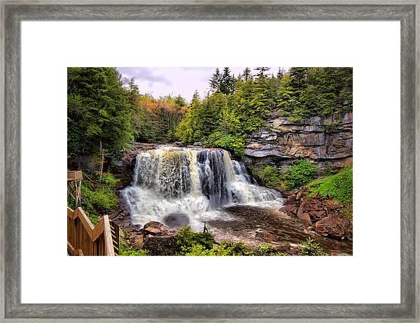 Blackwater Falls Sp Framed Print