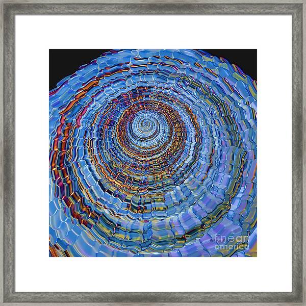 Blue World Framed Print