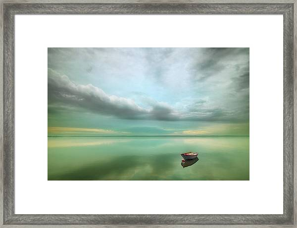 Boat... Framed Print by Krzysztof Browko