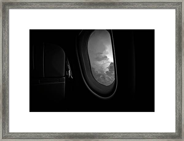 Bonding With God Framed Print by Carmit Rozenzvig