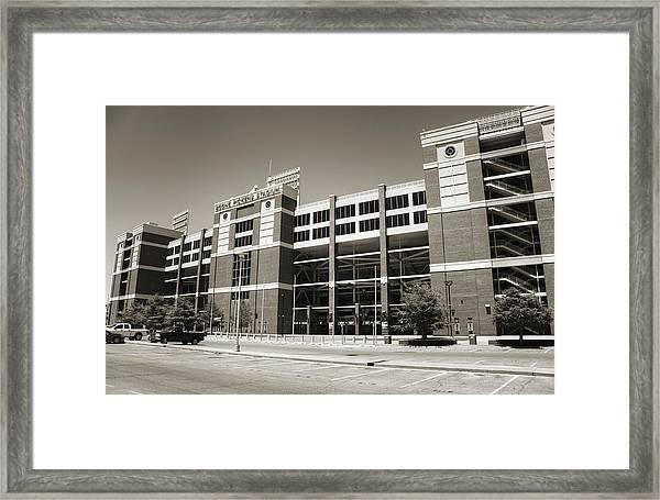 Boone Pickens Stadium Framed Print