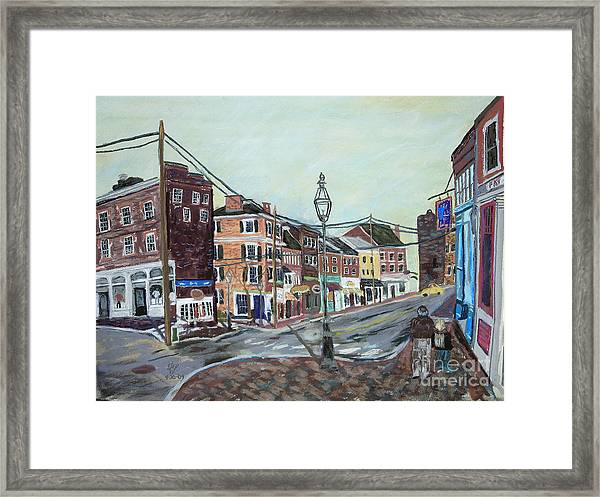 Bow Street As You Were Framed Print