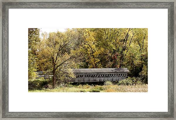 Buckeye Lake Ohio Framed Print