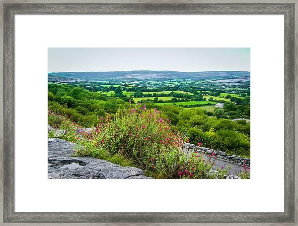 Burren National Park's Lovely Vistas Framed Print