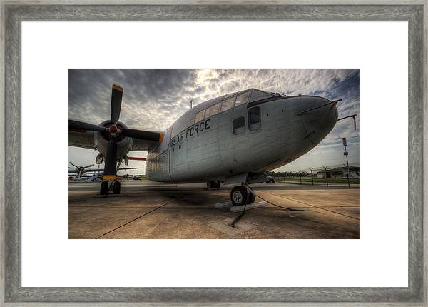 C-119 Flying Boxcar Framed Print
