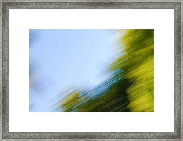 Camera Toss Framed Print