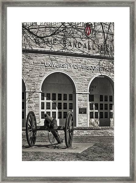 Camp Randall - Madison Framed Print