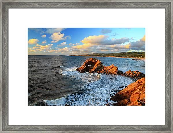 Canada, Nova Scotia, Cabot Trail Framed Print by Patrick J. Wall