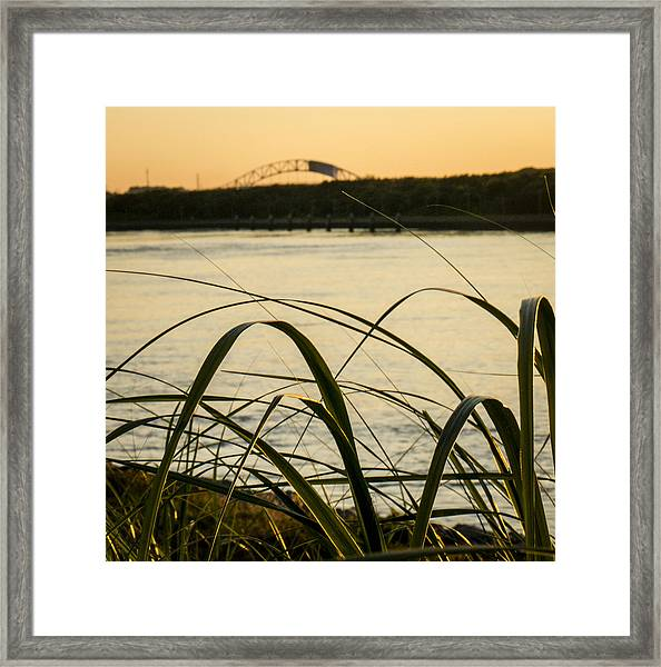 Cape Cod Canal  Framed Print