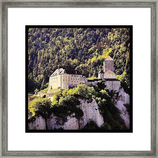 #castel #tirolo Framed Print