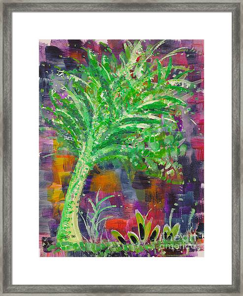 Celery Tree Framed Print
