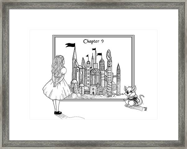 Chapter Nine Framed Print