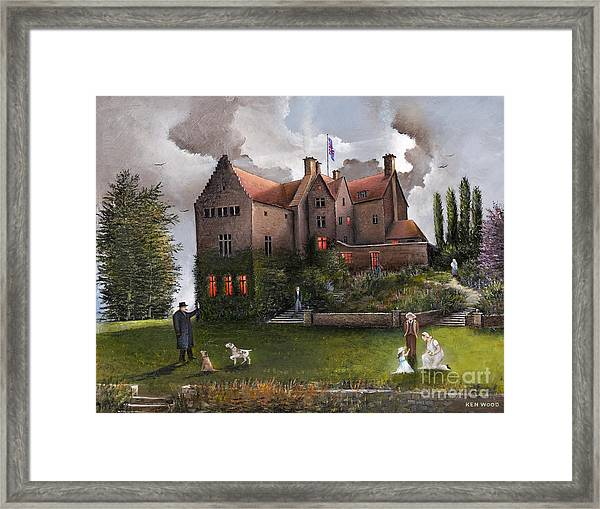 Chartwell Framed Print