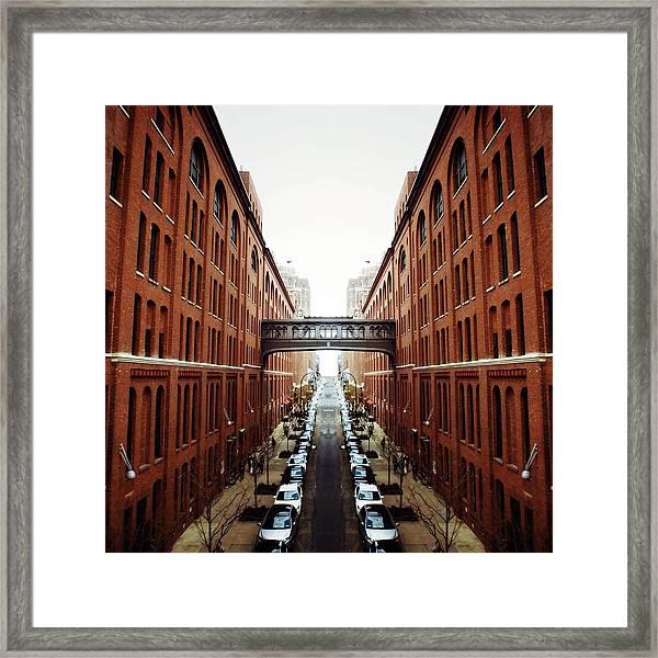 Chelsea Symmetry Framed Print