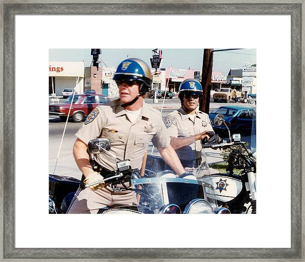Chips  Framed Print