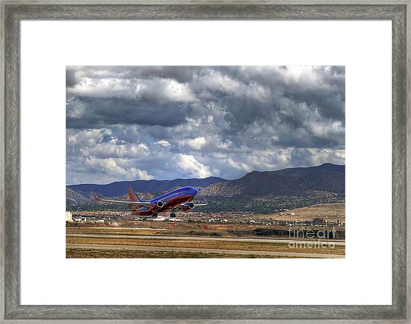 Cleared For Departure Framed Print