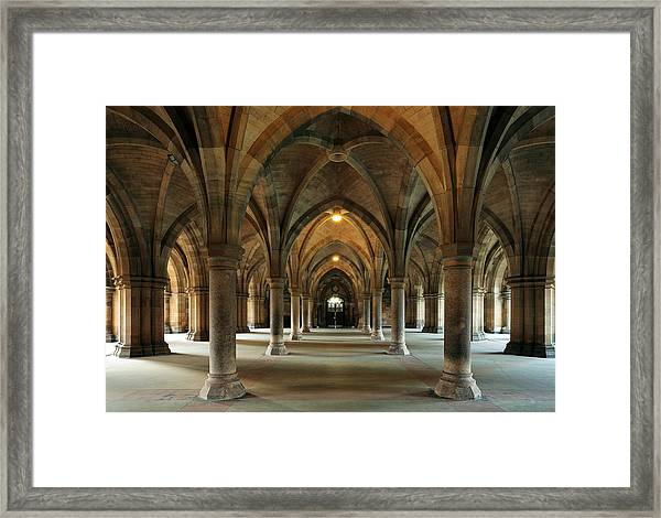 Cloisters Framed Print
