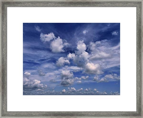 Cloudscape 4 Framed Print