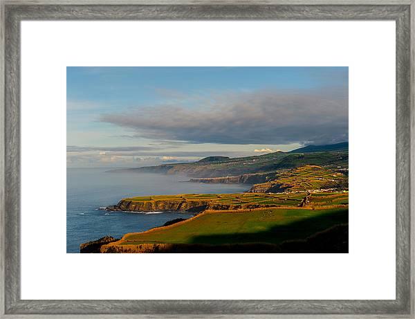 Coast Of Heaven Framed Print