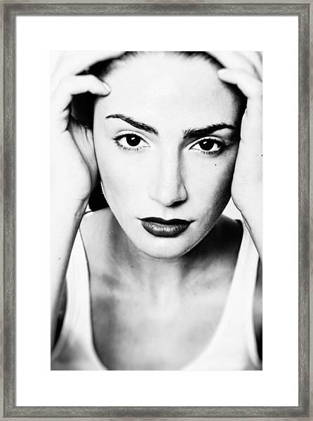 Cogito Ergo Sum Framed Print