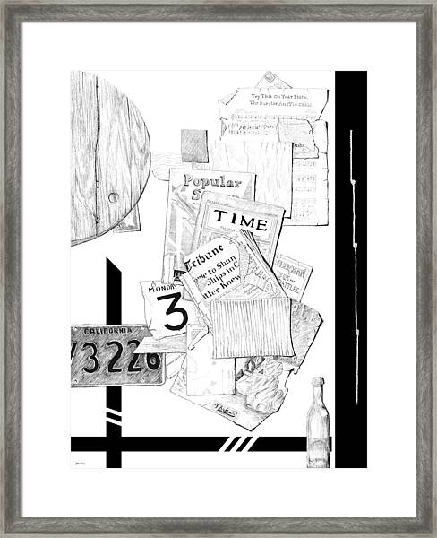 Collage #3 Framed Print