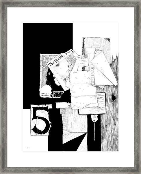 Collage #5 Framed Print