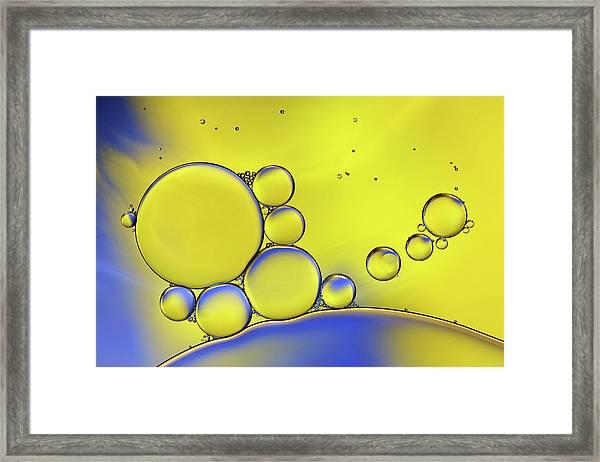 Colors Of Ikea Framed Print by Heidi Westum
