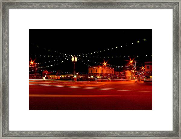 Columbiana Ohio Christmas Framed Print
