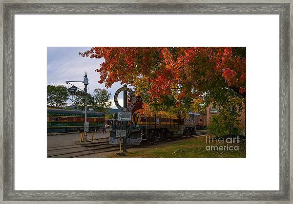 Conway Scenic Railroad Framed Print