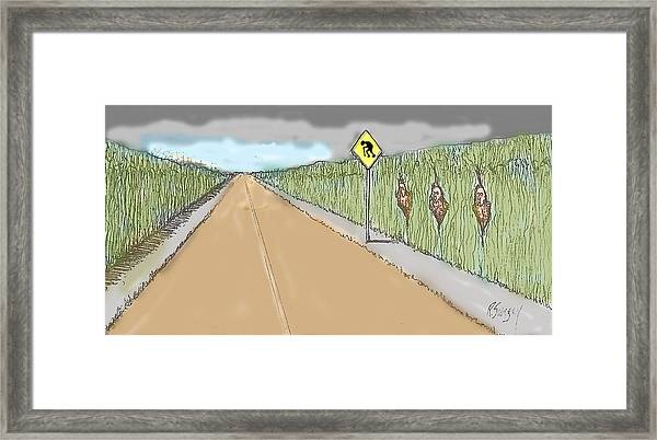 Coots Crossing Framed Print