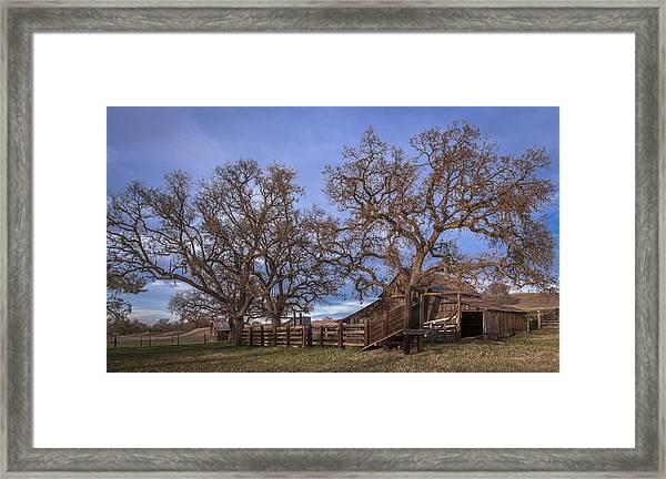 Cripple Creek Barn Framed Print