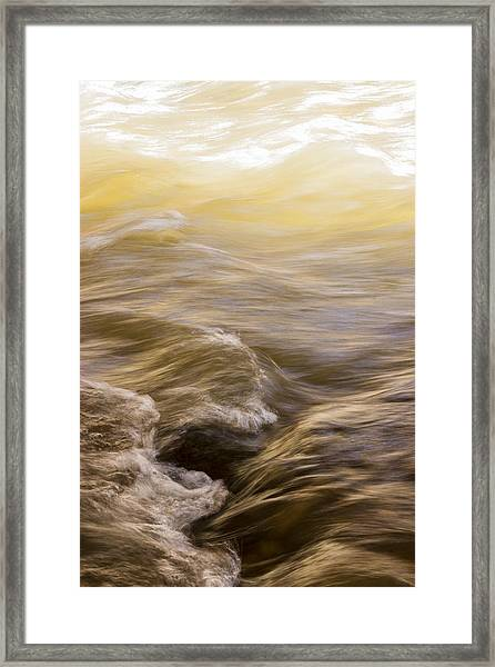 Dance Of Water And Light Framed Print