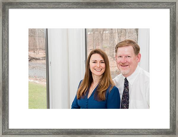 Dawn And Greg Framed Print