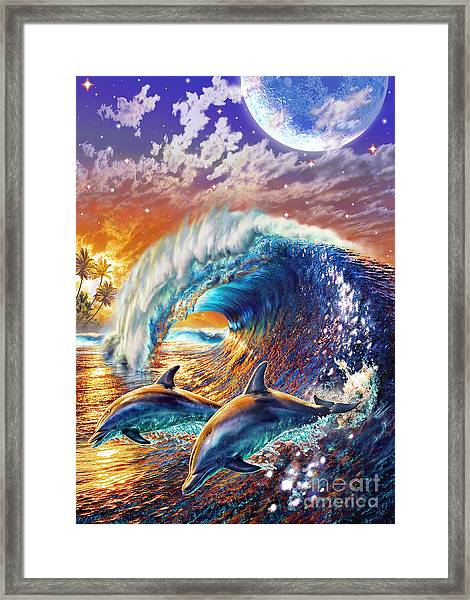 Dawn Tryst Framed Print