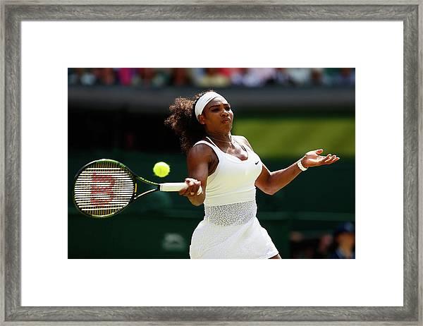 Day Twelve The Championships - Framed Print