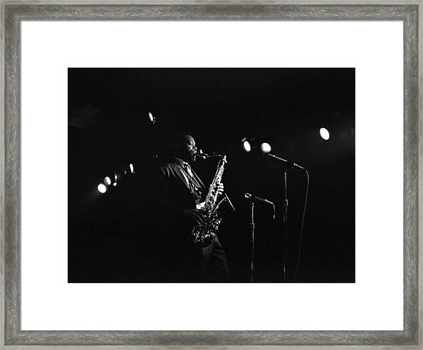 Dewey Redman Framed Print