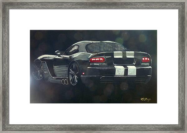 Dodge Viper 2 Framed Print