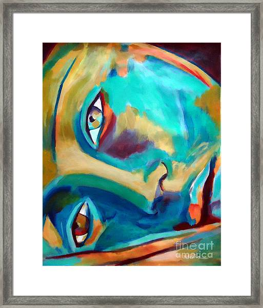 Doorway To The Heart Framed Print