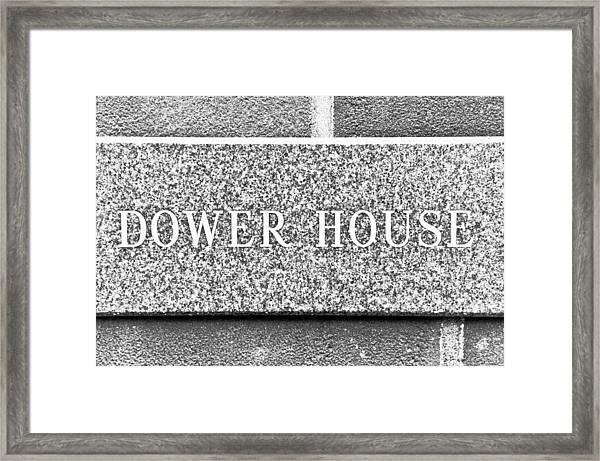 Dower House Framed Print