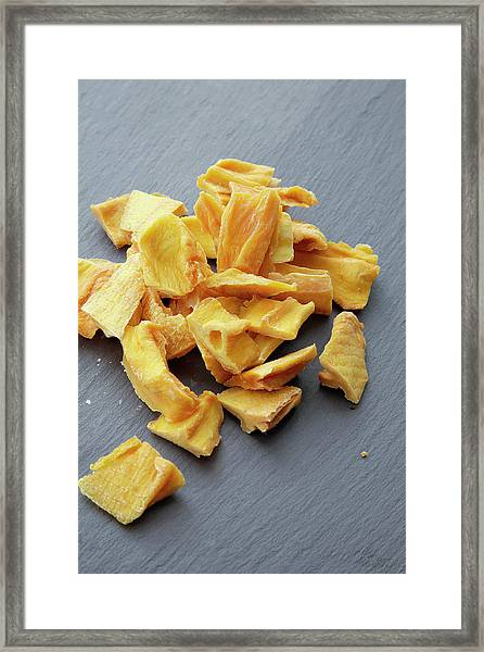 Dried Mango Framed Print