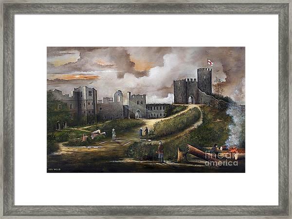 Dudley Castle 2 Framed Print
